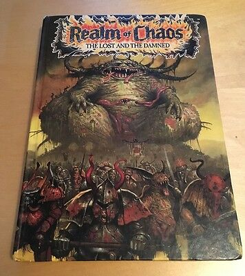 Realm of Chaos The Lost and the Damned book - Warhammer Games Workshop
