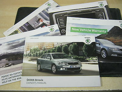 Skoda Octavia  Drivers Handbook Pack Owners Manual  2008-2012