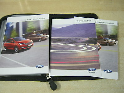 Ford Focus C-Max  Owners Manual -Owners Handbook 2014-2016  Service Book