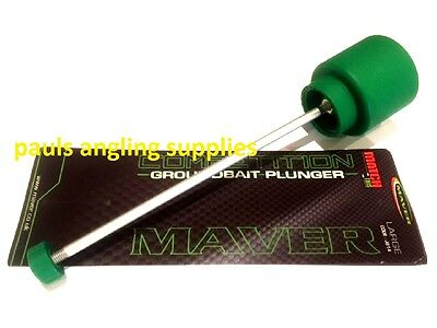 Maver Fishing Groundbait Plunger  Produce consistent balls of feed for hook etc