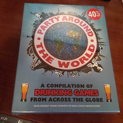 Party Around The World Drinking Games Unique Board Bar Game Party Fun Great Gift