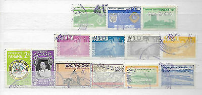 Panama Old + Scarce Stamps Taken From Albums + Stockbooks  6240716