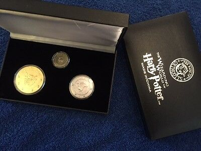 Gringotts Bank Coin Collection, Harry Potter, Wizarding World Diagon Alley Noble