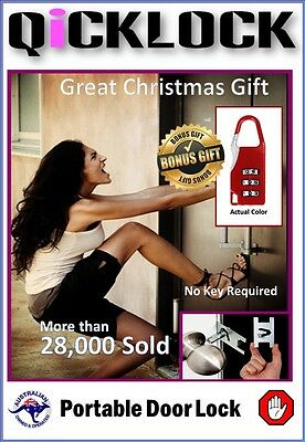Temporary Security Lock No Key Required + Bonus Offer ..Hot Price..