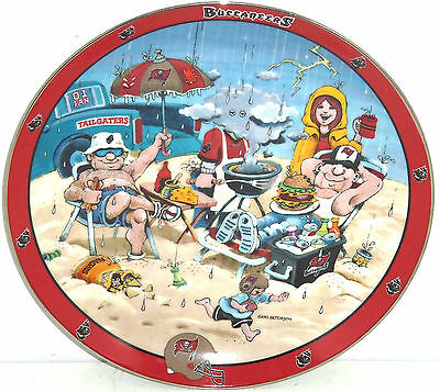 Tampa Bay Buccaneers Tailgating Collector Plate Ultimate Fan NFL Danbury Mint