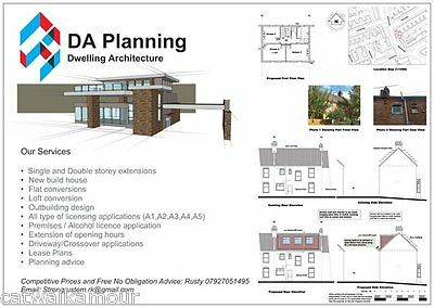 DA Planning Extensions Permissions Architectural Services Building FREE Estimate