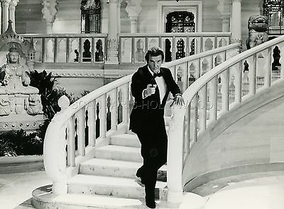 James Bond 007 Roger Moore Octopussy  1983 Vintage Photo Original