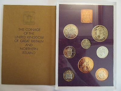 1970 Uncirculated Set, UK & Northern Ireland, mint package w/ COA, 8 coins