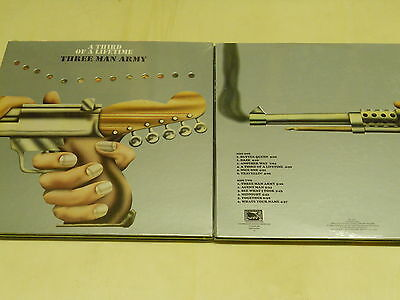 THREE MAN ARMY-a third of a lifetime-LP reissue of  1971-progressiv Rock-Gimmix