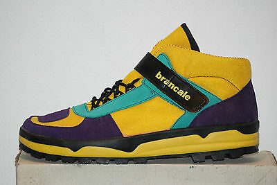 vintage BRANCALE track shoes boots mountain excursion borg adidas cycling sz45