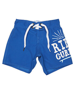 New Rip Curl Boys Tots Boys Crafty Boardshort Lace Fitted Boys Children Blue