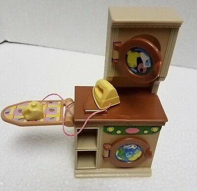 Fisher Price Loving Family LAUNDRY Room washer and dryer dollhouse 2006