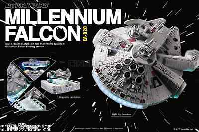 STAR WARS Millennium Falcon Magnetic Floating Version Beast Kingdom FLUTTUANTE!