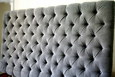 """Top Quality Luxurious Colchester Headboard In Chennille Fabric In 30"""""""