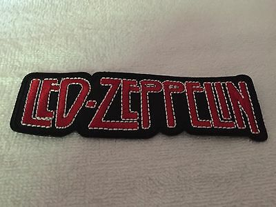 LED ZEPPELIN HEAVY ROCK BAND Iron / Sew On Patch. Free Shipping USA