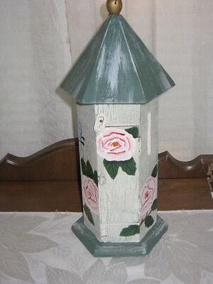 Decorative Wood Butterfly House