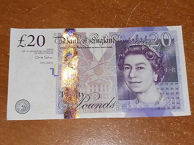 Great Britain UK  Bank of England 20 Pound note