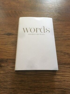 ❣RARE❣Words~George Michael/Wham! THE GEORGE MICHAEL BIBLE NM