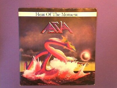 """Asia - Heat Of The Moment (7"""" single) picture sleeve GEF A 2494"""