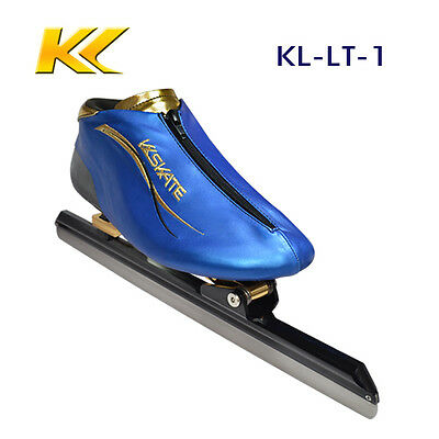 KL skate long track ice skating, clap blade ice skate for size 34 to 46