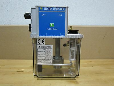 Chen Ying Auto Lubrication Pump Cesd-2L-180-110V New