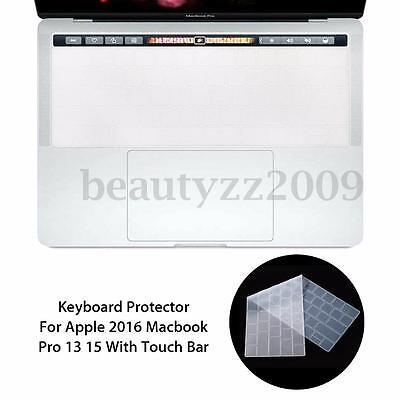 Silicone Keyboard Cover Film Protector For 2016 Macbook Pro 13/15 With Touch Bar