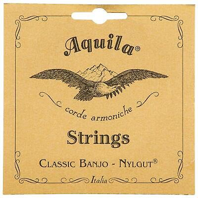 Aquila 5B Nylgut Banjo Strings - Medium Tension 5-String Banjo String Set