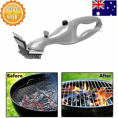 Useful Stainless Steel Grill Steam Cleaning Tool BBQ Brush Cleaner Tools Hot U3