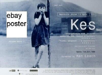 Printed Copy of the Cinema Poster from the Ken Loach Movie Kes.Excellent Quality