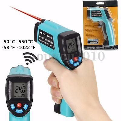 Digital LCD IR Infrared Temperature Thermometer Gun Non-Contact Laser Handheld