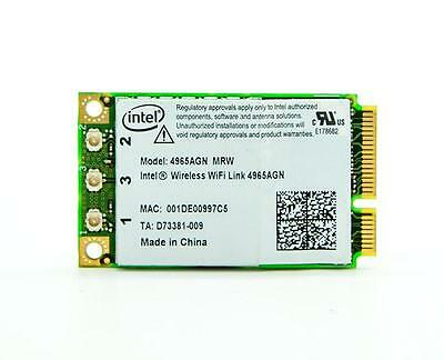 DRIVERS FOR INTELR WIRELESS WIFI LINK 4965AGN