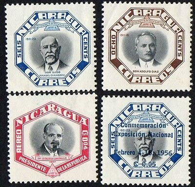Nicaragua stamps.  1953 Presidents of the Republic. MH