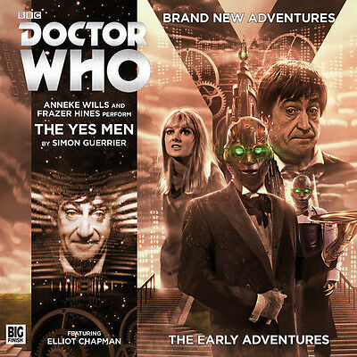 Doctor Who 2nd: The Yes Men CD -2.1 Big Finish Audio Drama NEW