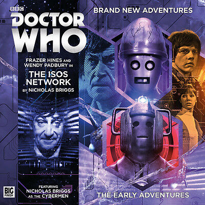 Doctor Who 2nd: The Isos Network CD -2.4 Big Finish Audio Drama NEW