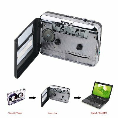 Tape to PC USB Cassette and MP3 CD Converter Capture Digital Audio Music PlayBF