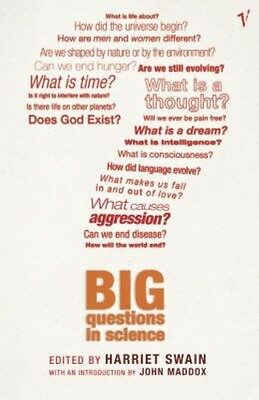 The Big Questions in Science by HARRIET SWAIN (EDITOR) Paperback Book