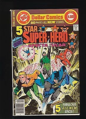 Dc Comics 5 Star Super-Hero Spectacular 1977! Very Rare! See Scans! Key Book Wow