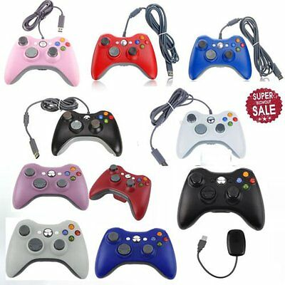 2.4G Game Wireless/Wired Controller Gamepad Joystick&PC Receiver for XBOX360 BF