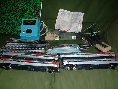 lot gege jouef BB9240 wagons TEE transfo norm-elec rails passage à niveau