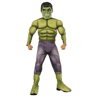 Marvel Hulk Boy's Size Medium 8-10 Avengers Age Of Ultron Muscle Chest Costume