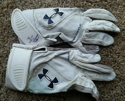Kyle Seager Game Used Batting Gloves Seattle Mariners