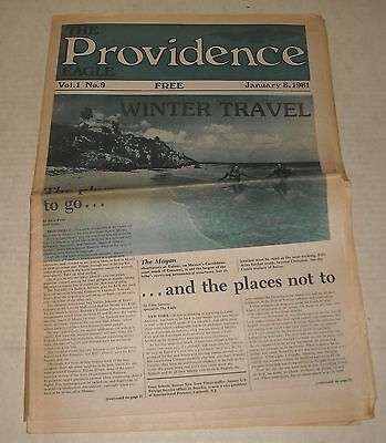 1/8 1981 The PROVIDENCE EAGLE NEWSPAPER LOCAL RHODE ISLAND RI NEWS RUDY WILLIAMS