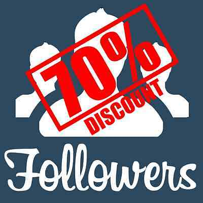 5000 Follower Instagram- Great Customer Service - Cheapest eBay - Trusted US+UK