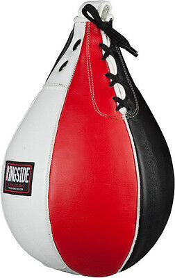 "Ringside Boxing Leather Speed Bag - Large (7"" x 11"")"