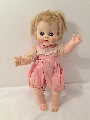 Vintage Madame Alexander Kathy Cry Baby 11""