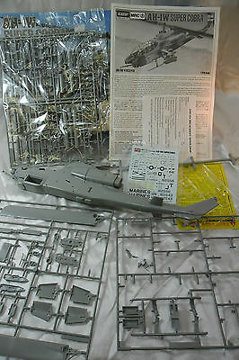 AH-1W Super Cobra 1/35 Academy Model Kit; Partly Built; Kit Basher's Special
