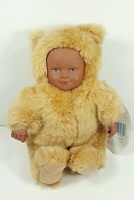 "Anne Geddes 1998 Baby Bears 9"" Plush Doll"