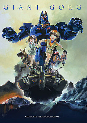 Giant Gorg Complete Tv Series Collection - 4 DISC SET (2016, DVD NEW)