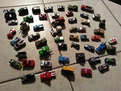 Micro Machines , Hot Wheels, Matchbox & others   Lot of 50 Vehicles