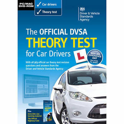 The Official DSA Theory Test for Car Drivers PC DVD